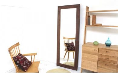 ウォールナット_姿見 Full length mirror 690