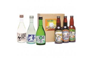 【193】鳥取県の生酒と鬼太郎ビールセット
