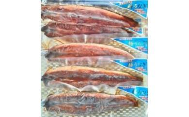 うなぎ蒲焼・5尾(小)たれ付/大隅産養殖