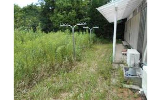 《T3-016》空き家のお庭除草サービス