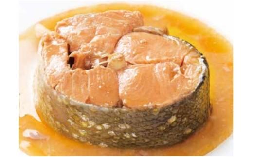 5213 南三陸銀鮭の醤油煮缶詰 6缶入
