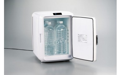 ツインバード工業 災害時などにも役立つ「冷温ボックス」 HR-DB08 GY (DC電源セット)