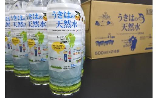【A-177】うきはの天然水(500ml×24本)