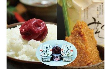 (13,000pt)【熊野ふるさとの味】無添加 梅・みそ詰め合わせセット