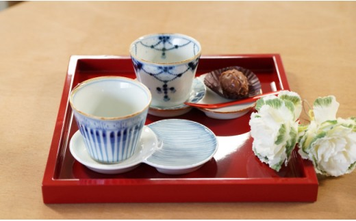 MB019 有田焼・素敵なお茶セット2