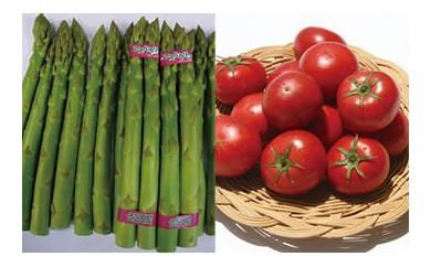 ◇☆JAうつのみや産地直送 トマト・アスパラガスと季節の野菜セット