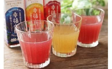 幸福de酢(梅、ブルーベリー、ラズベリー)3本セット