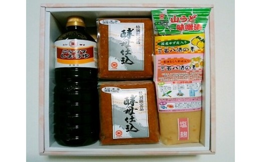 30B-28 喜多方の味 味噌醤油漬物セット