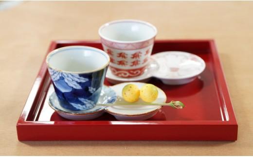 MB020 有田焼・素敵なお茶セット3