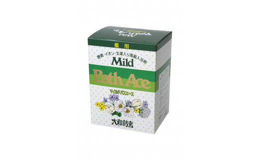 薬用酵素入浴剤「マイルドバスエース」1箱(25g×30包)