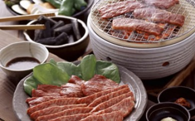 山口県産 和牛ロース 焼肉用 約700g