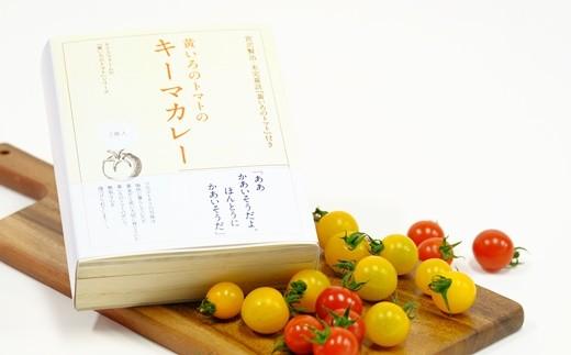 【008】 黄いろのトマトのキーマカレー