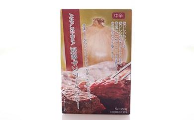 淡路牛ステーキカレー(中辛・250g)×10食セット