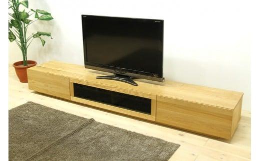 BN341-C 凛 テレビボード W1800 タイプ1 ホワイトオーク シンプル