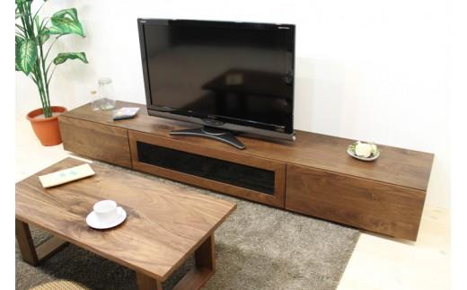 BN340-C 凛テレビボードW1800タイプ1ウォールナットシンプル