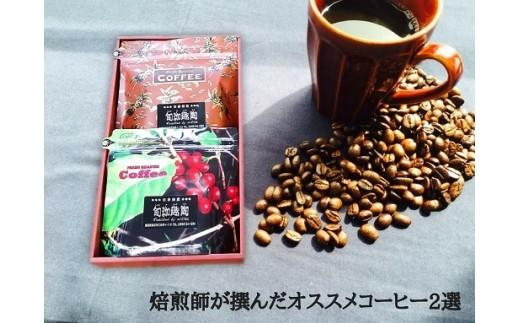 A-24 焙煎師が選んだオススメコーヒー2選【1pt】