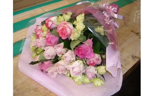 A-157 大畑バラ園 バラの花束【1pt】