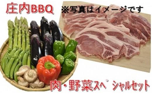 109 庄内BBQ~肉と野菜のスペシャルセット~