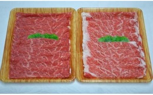 E-36 豊後・米仕上牛すき焼き食べ比べセット【豊後高田市限定】