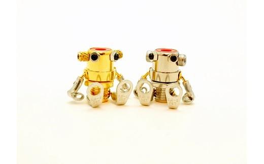 《B1-038》【地元ブランド】マサノヴァアート ロボットアクセサリー ペア