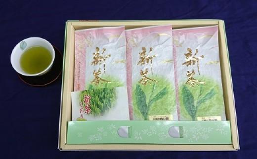串間産【緑茶「いばち野香り」詰め合わせ】A-43