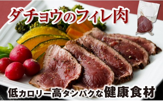 B2-2230/上品な旨みが特徴!ダチョウのフィレ肉