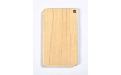 木製ICカードケース(ハードメープル白