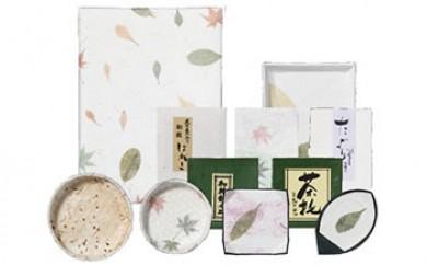 1000年以上続く 伝統の手漉き和紙 松崎和紙セット
