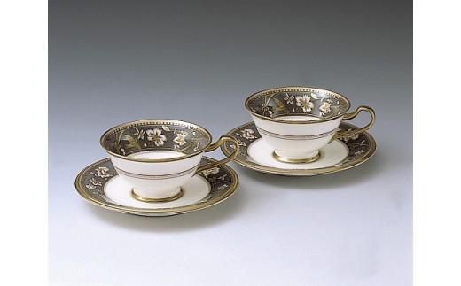 H402サブライム ティー・コーヒー碗皿ペアセット