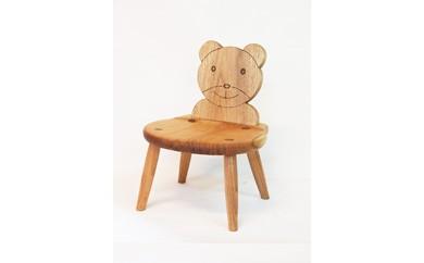 国産クルミ材を使った子供椅子