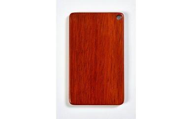 木製ICカードケース(サッチーネ 赤)