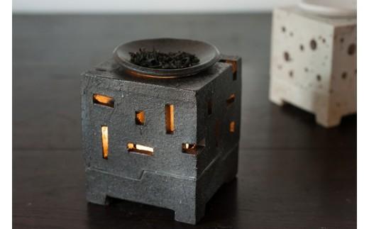 茶香炉 黒