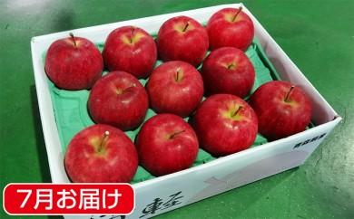 [№5731-0166]盛夏に冷た~い 津軽平川市産 ジョナゴールド約3kg※クレジットのみ