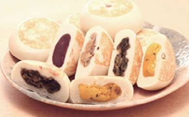 もっちり食感!信濃おやき幸庵の天然酵母おやき16個セット