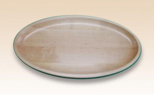 [№5783-0228]楕円木皿 小(月形)・4枚セット
