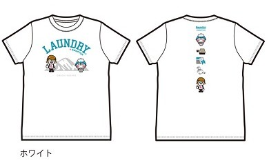 Laundry×おおまぴょんコラボTシャツ【ホワイトM】