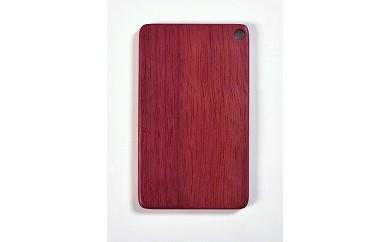 木製ICカードケース(パープルハート 紫)