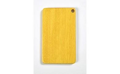 木製ICカードケース(イエローハート 黄色)