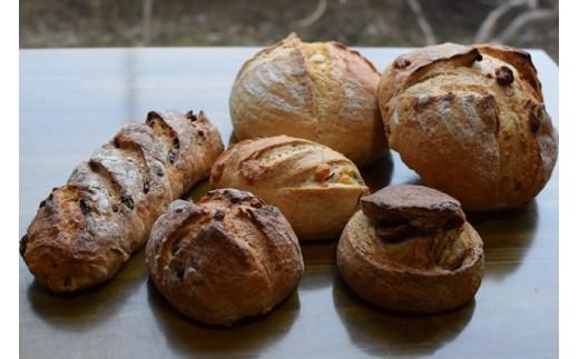 [1213]十勝産ライ麦粒粉ブレンドカンパーニュセット