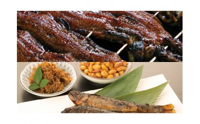 ◆炭火焼国産蒲焼うなぎと湖の幸 ご飯のお供 お茶漬けセット