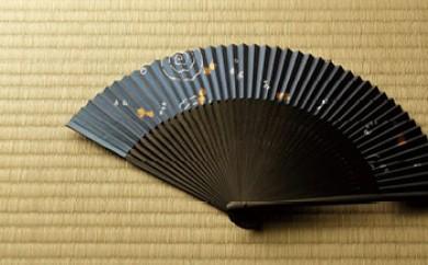◆近江扇子 №25622 金魚