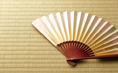 ◆近江扇子 №25141 藤