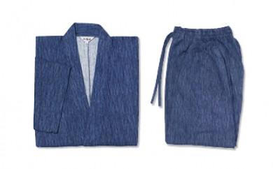 ◆高島ちぢみ 作務衣(さむえ) 紳士用 LLサイズ