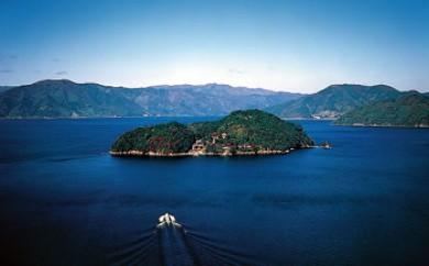 ◆パワースポット竹生島クルーズ往復乗船券付き1泊2食付ペア宿泊券