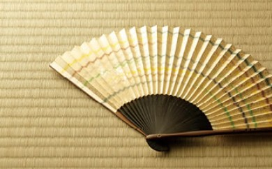 ◆【数量限定】近江扇子 №25613 カスミ