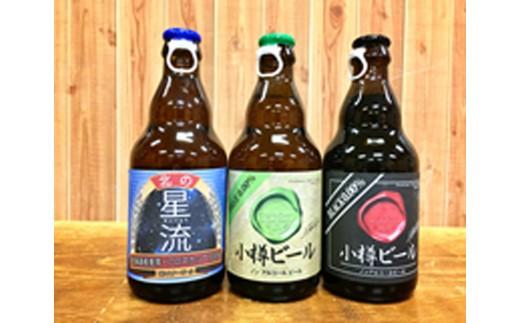 【B6001】小樽ビール ビール・ノンアルコールビール 詰合せ24本セット (北の星流、小樽ビール ノンアルコールビール2種)