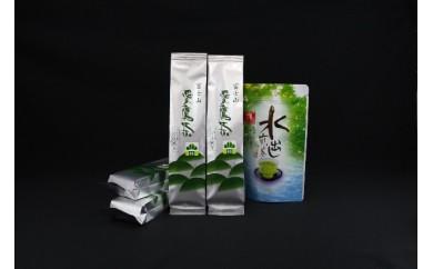 愛鷹茶 ブレンドくき煎茶 松 800g・水出し煎茶TB 100g
