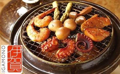[№5831-0038]伊賀焼 くんせい土鍋 「いぶしぎん」
