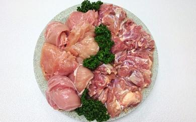 [№5651-0577]若鶏モモ肉+若鶏ムネ肉(各2kg計4kg)
