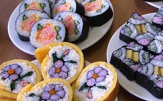 1-74 太巻き祭り寿司体験(ペア)